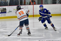 CIAC Ice Hockey; L.H.- H-K, Cogin. 8 vs Newtown 1 - Photo # (603)