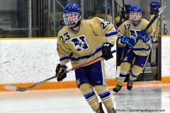 CIAC Ice Hockey; Focused on Newtown 7 vs. Mt. Everett 1 - Photo 011