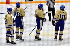 CIAC Ice Hockey; Focused on Newtown 7 vs. Mt. Everett 1 - Photo 1073