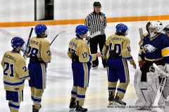 CIAC Ice Hockey; Focused on Newtown 7 vs. Mt. Everett 1 - Photo 1074