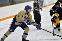 CIAC Ice Hockey; Focused on Newtown 7 vs. Mt. Everett 1 - Photo 798