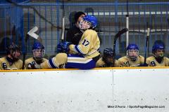 CIAC Ice Hockey; Focused on Newtown 7 vs. Mt. Everett 1 - Photo 813