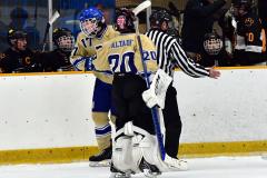 CIAC Ice Hockey; Newtown 2 vs. Daniel Hand 6 - Photo # 1329