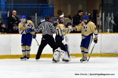 CIAC Ice Hockey; Newtown 2 vs. Daniel Hand 6 - Photo # 1330
