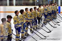 CIAC Ice Hockey; Focused on Newtown 7 vs. Mt. Everett 1 - Photo 281