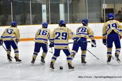 CIAC Ice Hockey; Newtown 2 vs. Daniel Hand 6 - Photo # 083