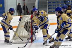CIAC Ice Hockey; Newtown 2 vs. Daniel Hand 6 - Photo # 1412
