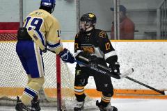 CIAC Ice Hockey; Newtown 2 vs. Daniel Hand 6 - Photo # 1855