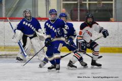 CIAC Ice Hockey; L.H.- H-K, Cogin. 8 vs Newtown 1 - Photo # (642)
