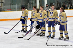 CIAC Ice Hockey; Newtown 2 vs. Daniel Hand 6 - Photo # 415
