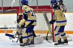 CIAC Ice Hockey; Newtown 2 vs. Daniel Hand 6 - Photo # 824