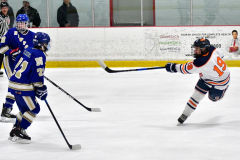 CIAC Ice Hockey; L.H.- H-K, Cogin. 8 vs Newtown 1 - Photo # (409)