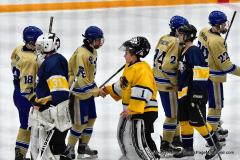 CIAC Ice Hockey; Focused on Newtown 7 vs. Mt. Everett 1 - Photo 1078