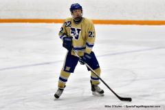 CIAC Ice Hockey; Focused on Newtown 7 vs. Mt. Everett 1 - Photo 387