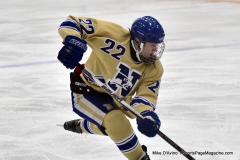 CIAC Ice Hockey; Focused on Newtown 7 vs. Mt. Everett 1 - Photo 770