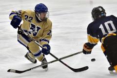 CIAC Ice Hockey; Focused on Newtown 7 vs. Mt. Everett 1 - Photo 771