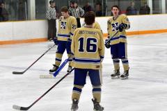 CIACT D3 Ice Hockey; #8 Newtown 7 vs. #9 Wilton 2 - Photo # 448