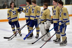 CIACT D3 Ice Hockey; #8 Newtown 7 vs. #9 Wilton 2 - Photo # 462