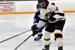 CIACT Ice Hockey D3 QFs; #1 Hand 5 vs. #8 Newtown 0 - Photo # 947