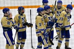 CIAC Ice Hockey; Focused on Newtown 7 vs. Mt. Everett 1 - Photo 1061