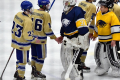 CIAC Ice Hockey; Focused on Newtown 7 vs. Mt. Everett 1 - Photo 1076