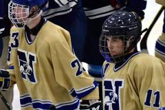 CIACT D3 Ice Hockey; #8 Newtown 7 vs. #9 Wilton 2 - Photo # 2272