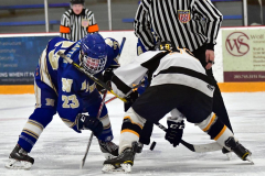 CIACT Ice Hockey D3 QFs; #1 Hand 5 vs. #8 Newtown 0 - Photo # 1050