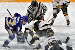 CIACT Ice Hockey D3 QFs; #1 Hand 5 vs. #8 Newtown 0 - Photo # 1108