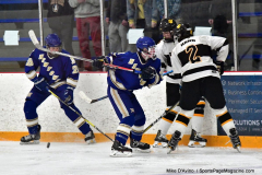 CIACT Ice Hockey D3 QFs; #1 Hand 5 vs. #8 Newtown 0 - Photo # 976