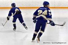 CIACT Ice Hockey D3 QFs; #1 Hand 5 vs. #8 Newtown 0 - Photo # 1162