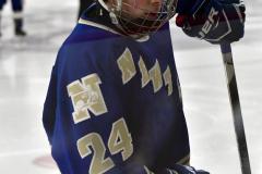 CIACT Ice Hockey D3 QFs; #1 Hand 5 vs. #8 Newtown 0 - Photo # 1184
