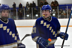 CIACT Ice Hockey D3 QFs; #1 Hand 5 vs. #8 Newtown 0 - Photo # 830
