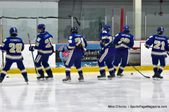 CIAC Ice Hockey; L.H.- H-K, Cogin. 8 vs Newtown 1 - Photo # (93)