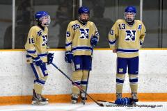 CIAC Ice Hockey; Newtown 2 vs. Daniel Hand 6 - Photo # 198