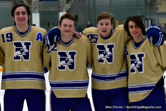 CIAC Ice Hockey; Newtown 2 vs. Daniel Hand 6 - Photo # 2080