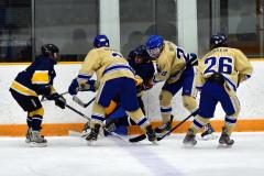 CIAC Ice Hockey; Focused on Newtown 7 vs. Mt. Everett 1 - Photo 1035