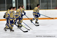 CIACT D3 Ice Hockey; #8 Newtown 7 vs. #9 Wilton 2 - Photo # 468