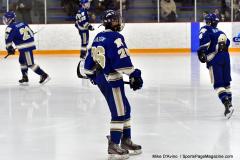 CIACT Ice Hockey D3 QFs; #1 Hand 5 vs. #8 Newtown 0 - Photo # 1166