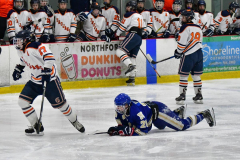 CIAC Ice Hockey; L.H.- H-K, Cogin. 8 vs Newtown 1 - Photo # (687)