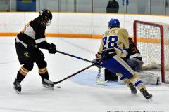 CIAC Ice Hockey; Newtown 2 vs. Daniel Hand 6 - Photo # 681