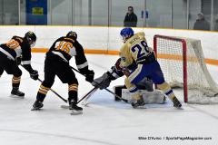 CIAC Ice Hockey; Newtown 2 vs. Daniel Hand 6 - Photo # 684