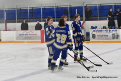 CIACT Ice Hockey D3 QFs; #1 Hand 5 vs. #8 Newtown 0 - Photo # 246