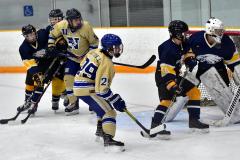 CIAC Ice Hockey; Focused on Newtown 7 vs. Mt. Everett 1 - Photo 350