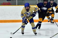 CIAC Ice Hockey; Focused on Newtown 7 vs. Mt. Everett 1 - Photo 364
