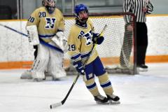 CIAC Ice Hockey; Focused on Newtown 7 vs. Mt. Everett 1 - Photo 540