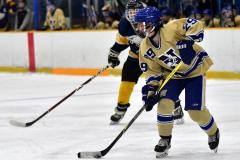 CIAC Ice Hockey; Focused on Newtown 7 vs. Mt. Everett 1 - Photo 908