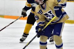 CIAC Ice Hockey; Focused on Newtown 7 vs. Mt. Everett 1 - Photo 909