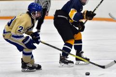 CIAC Ice Hockey; Focused on Newtown 7 vs. Mt. Everett 1 - Photo 911