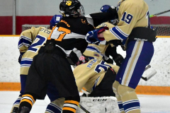 CIAC Ice Hockey; Newtown 2 vs. Daniel Hand 6 - Photo # 1862
