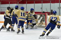 CIAC Ice Hockey; Newtown 2 vs. Daniel Hand 6 - Photo # 894